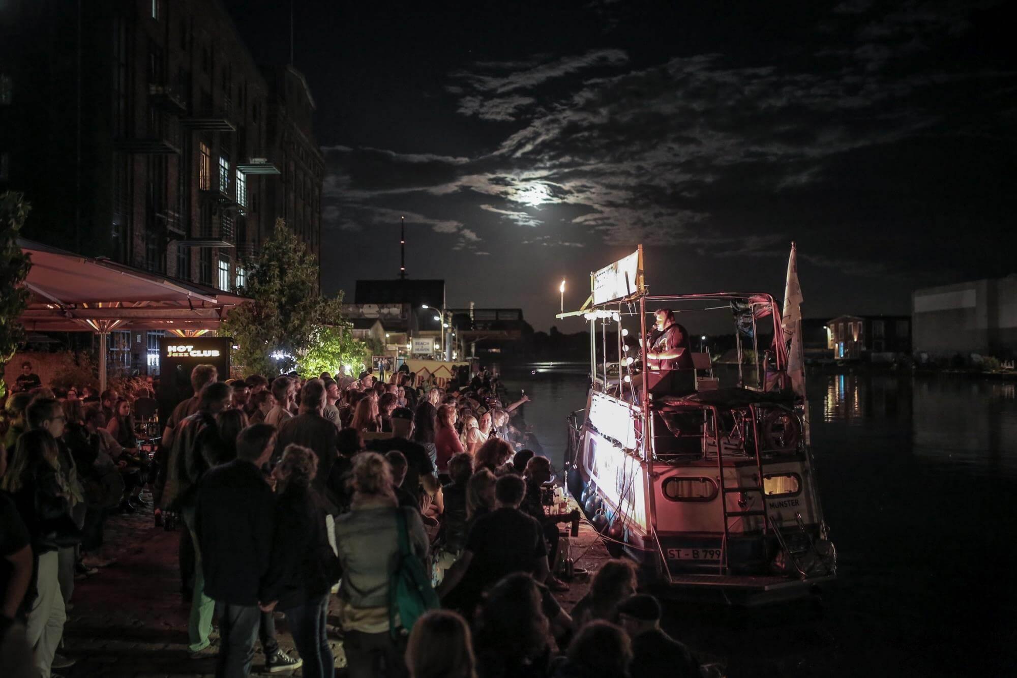 TREIBGUT Festival - Hafen Münster - Das Boot
