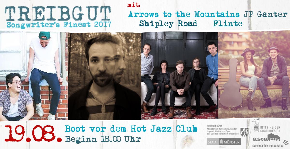 Treibgut - Songwriter Festival - 19.08. 2017 - Hafen Münster