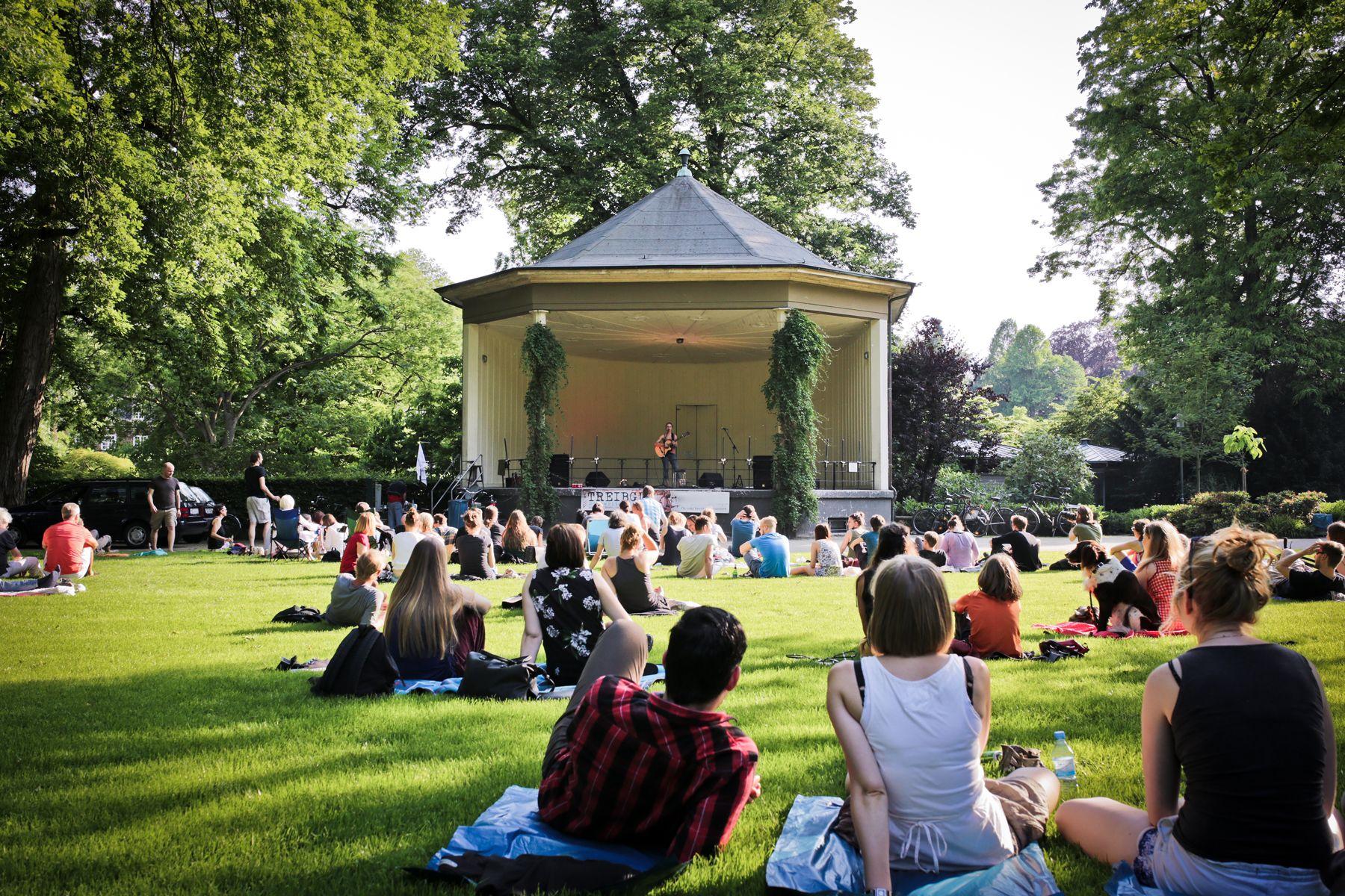 TREIBGUT Festival - Schloßgarten Pavillon Münster