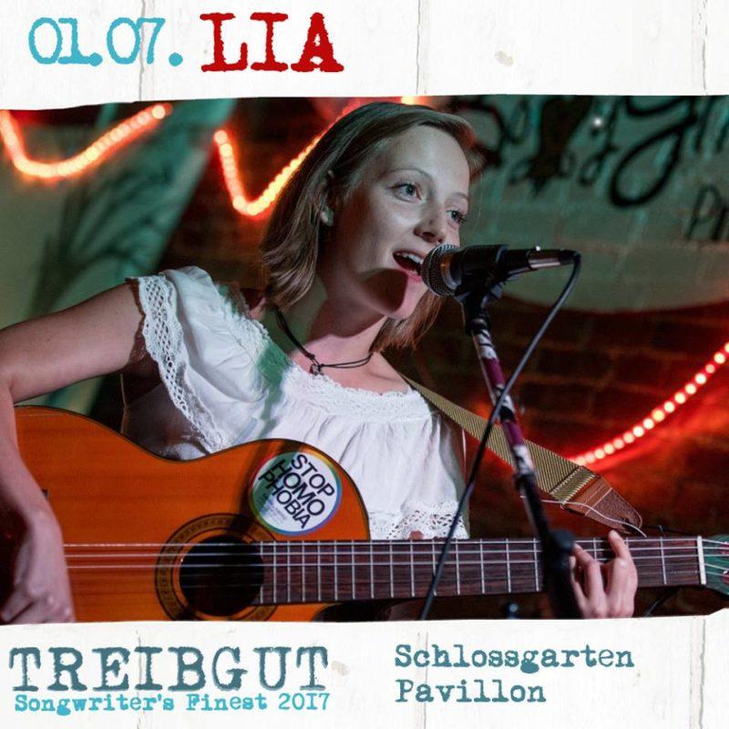 Treibgut Festival -No: 1 /2017 Künstlervorstellung LIA mit der Gitarre