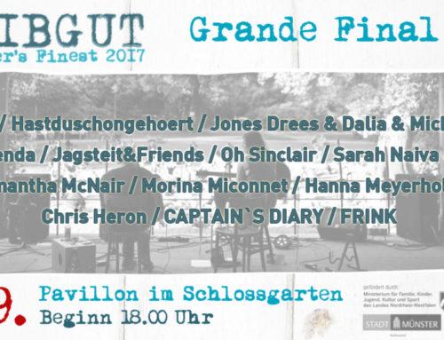 Das große Finale – Treibgut No6/2017 – Schlossgarten Pavillon