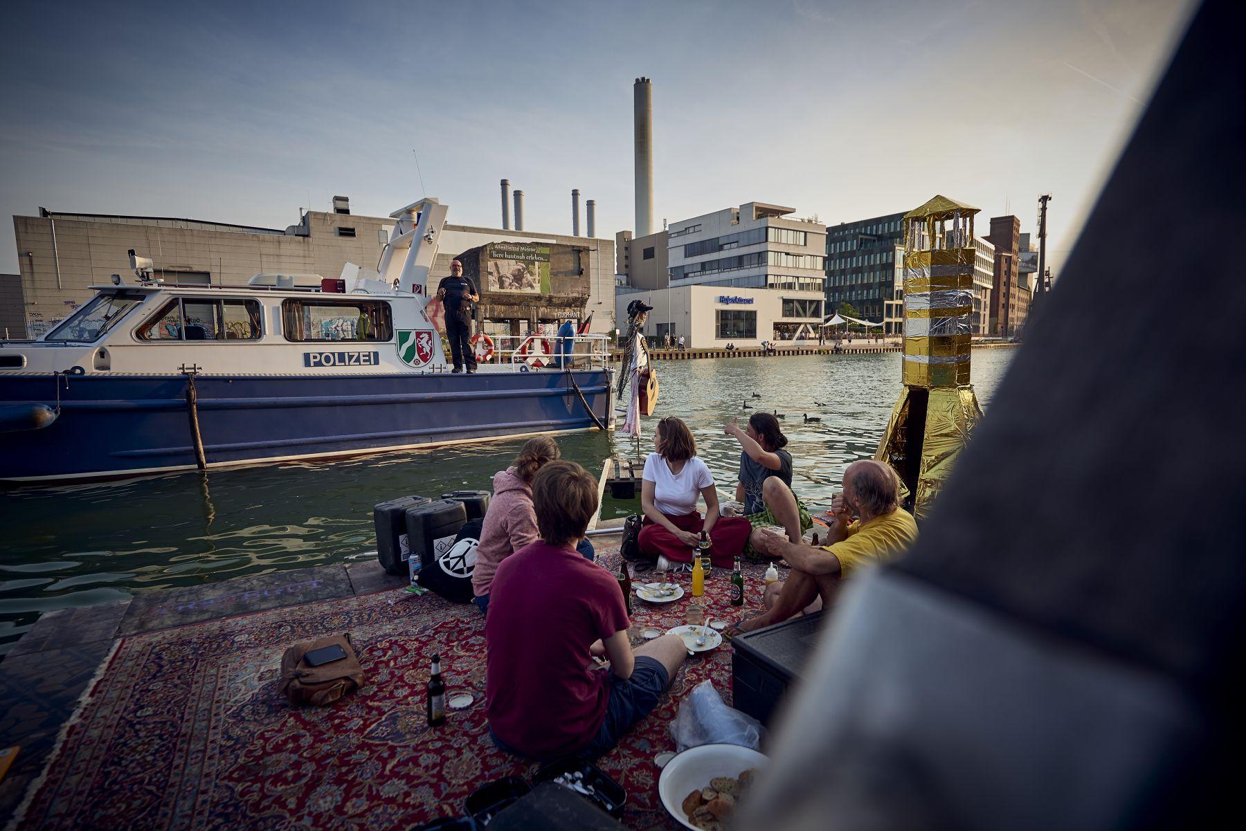 Treibgut - Hafen -1-2019- Die Freunde von der Wasserschutzpolizei