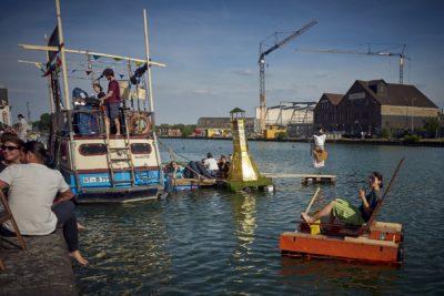 Treibgut - Hafen -1-2019- Tretboot