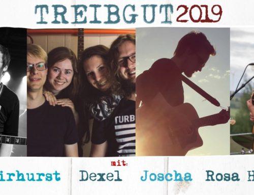 TREIBGUT #5 2019 – Songwriters Finest mit Dan Fairhurst – DEXEL – Joscha Borgers – Rosa Hoelger
