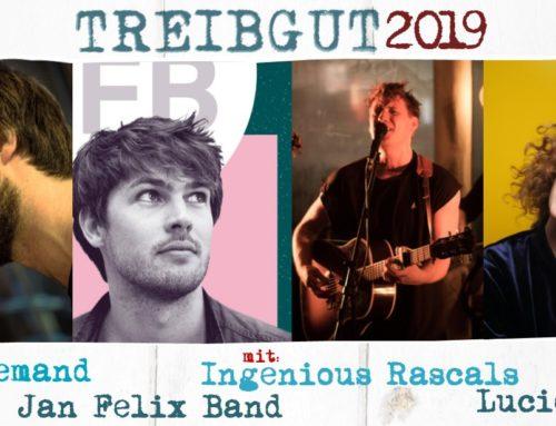 TREIBGUT 2019 #3 FREITAG am HAFEN – Songwriters Finest mit Kaum Jemand –  Jan Felix Band – Ingenious Rascals – Lucie Licht
