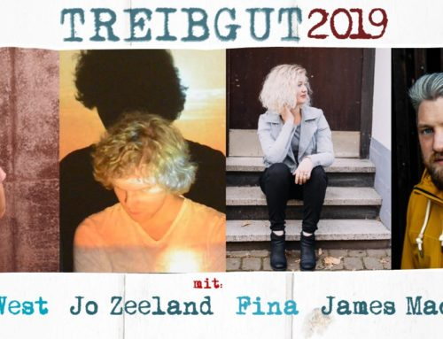TREIBGUT 2019 #4 SAMSTAG am HAFEN – Songwriters Finest mit Sophy West – Jo Zeeland – Fina – James Mackenzie